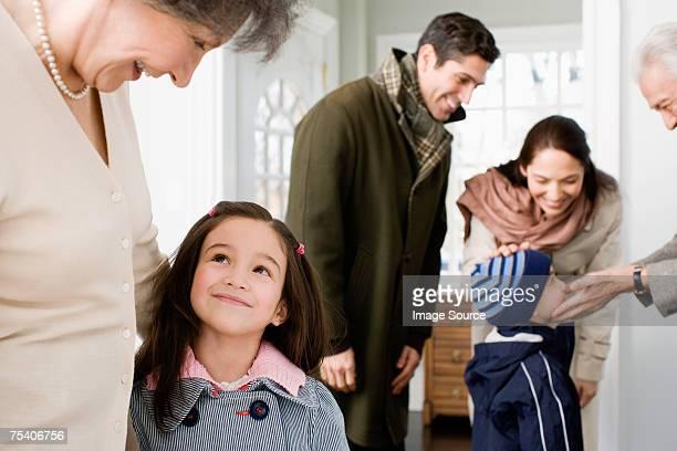 Visitare i nonni