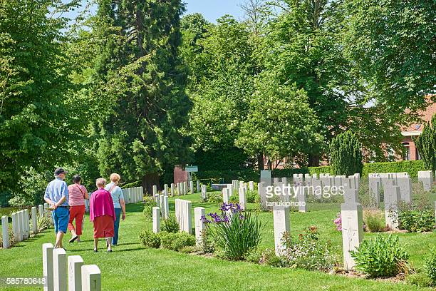 Sie War Cemetery in Belgien