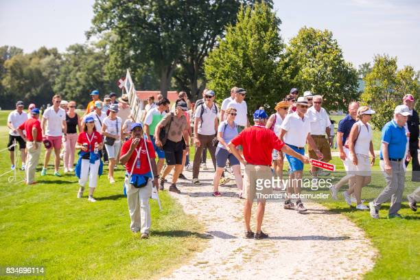 Visitor are seen during day two of the Saltire Energy Paul Lawrie Matchplay at Golf Resort Bad Griesbach on August 18 2017 in Passau Germany