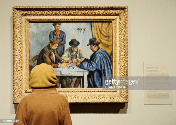 Image result for paul cézanne the card players