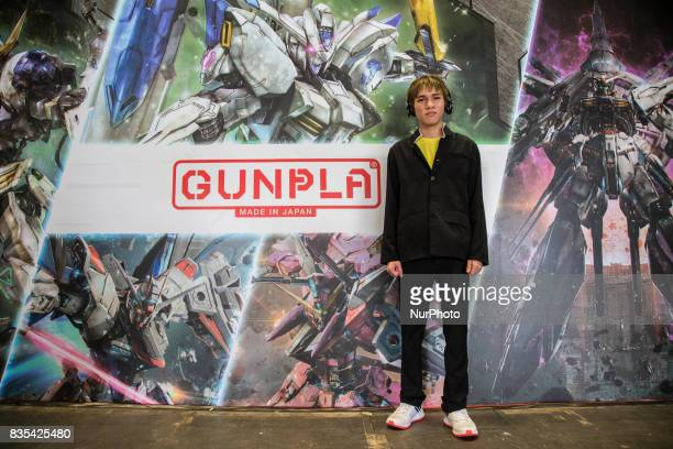 A visitor poses during the C3AFA event in Jakarta Indonesia on 19 August 2017 The scale has expanded to the biggest Japanese anime festival out of...