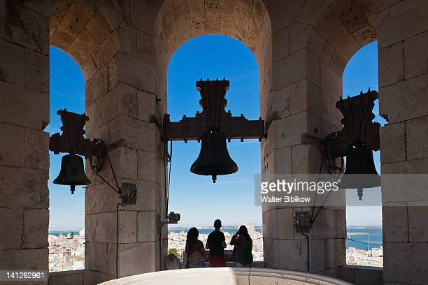 Visitors at the Torre de Poniente Cathedral tower