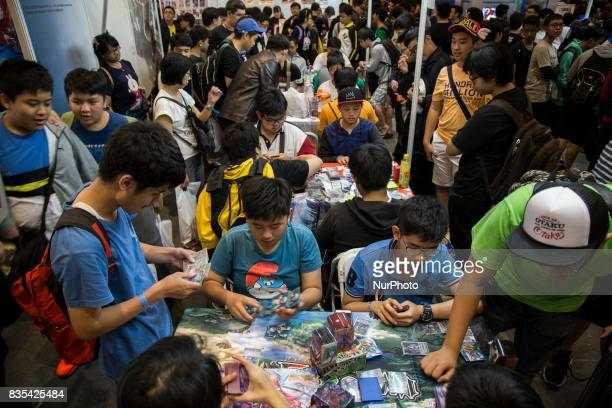 Visitors during the C3AFA event in Jakarta Indonesia on 19 August 2017 The scale has expanded to the biggest Japanese anime festival out of Japan in...