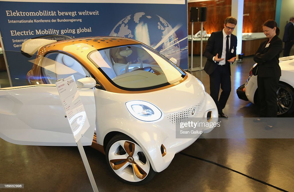 German Government Hosts Electro Mobility Congress Photos And