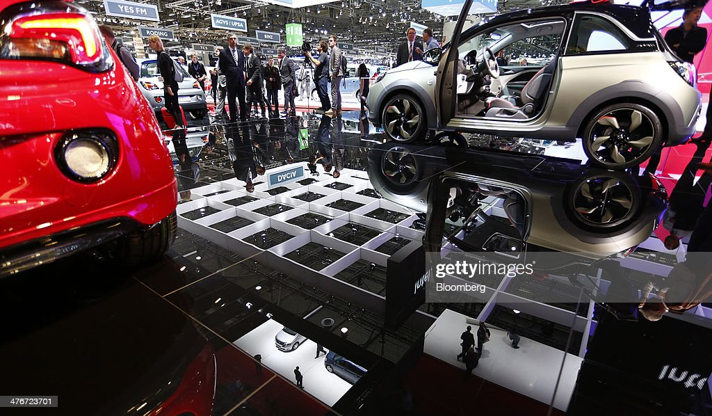 Day One Of The Geneva Motor Show 2014 Getty Images