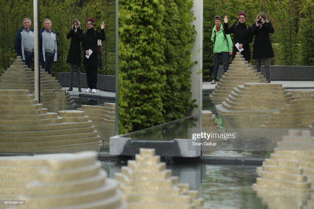 iga 2017 international garden exhibition photos and images | getty