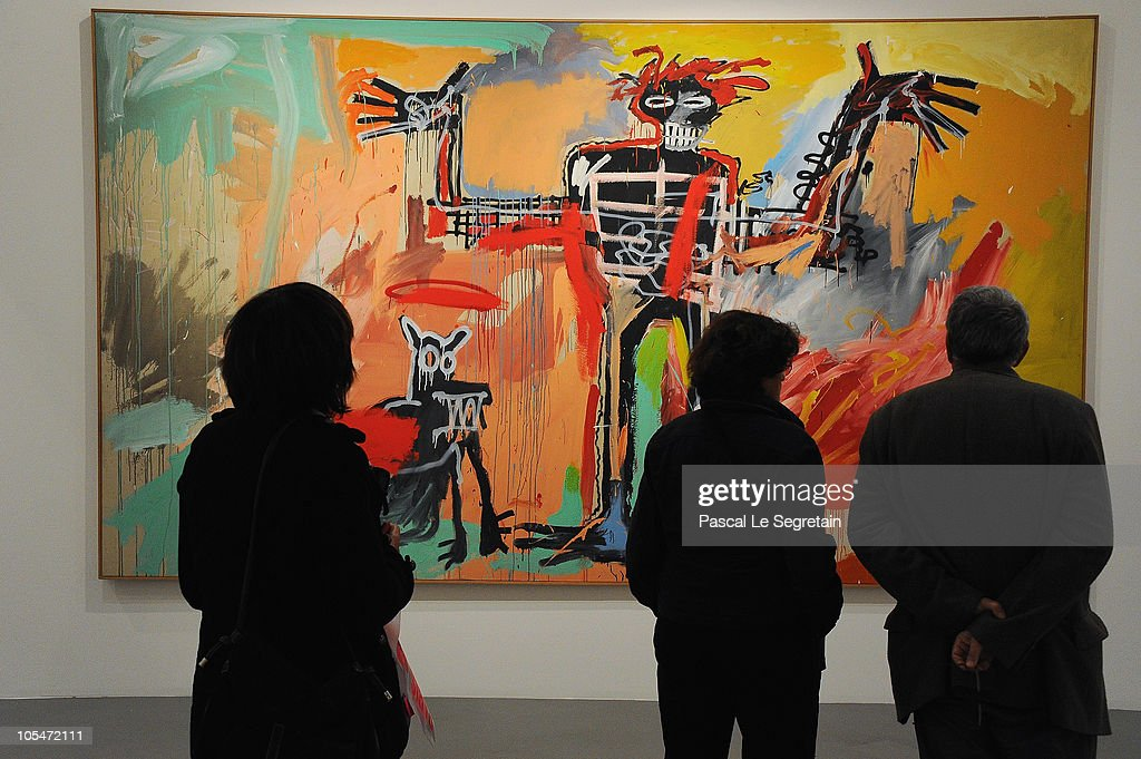 39 basquiat 39 retrospective for the 50th anniversary of his birth getty images. Black Bedroom Furniture Sets. Home Design Ideas