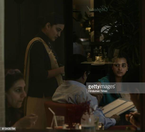Visitors throng at the Fenix restaurant at Oberoi Hotel in Mumbai on Saturday to get a taste of the new menu It was the opening ceremony of Oberoi on...