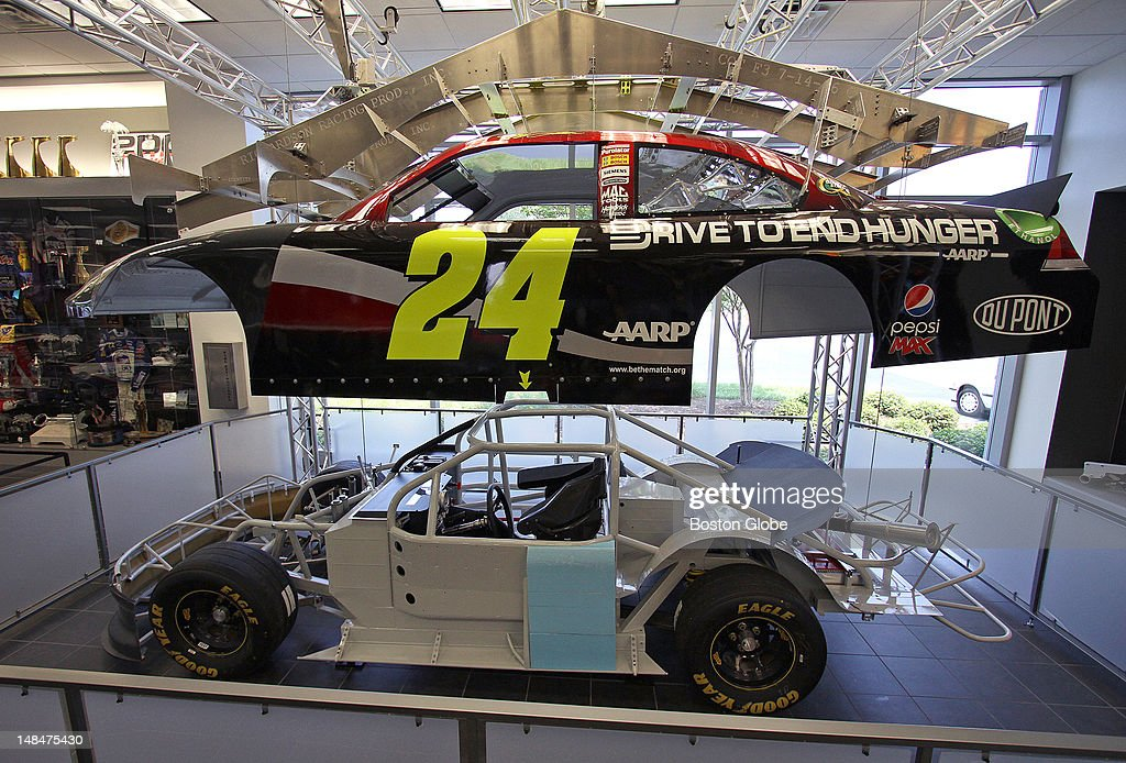 Visitors to the Hendrick Motorsports campus in Concord NC can also see the team museum where the 5 48 and 88 cars are on display Seen here is a look...