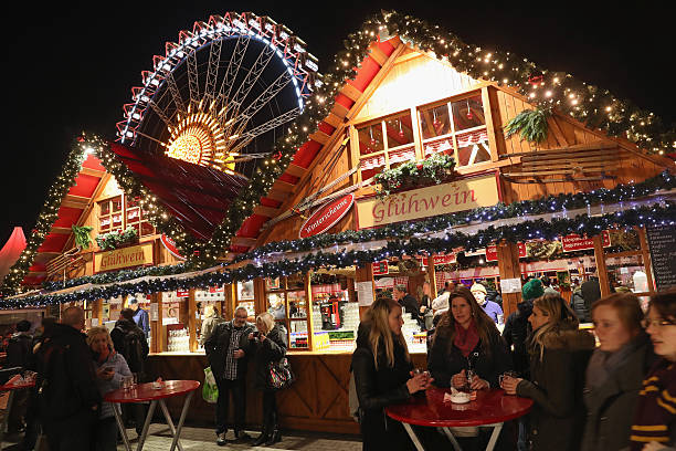 christmas markets open in berlin photos and images getty images. Black Bedroom Furniture Sets. Home Design Ideas