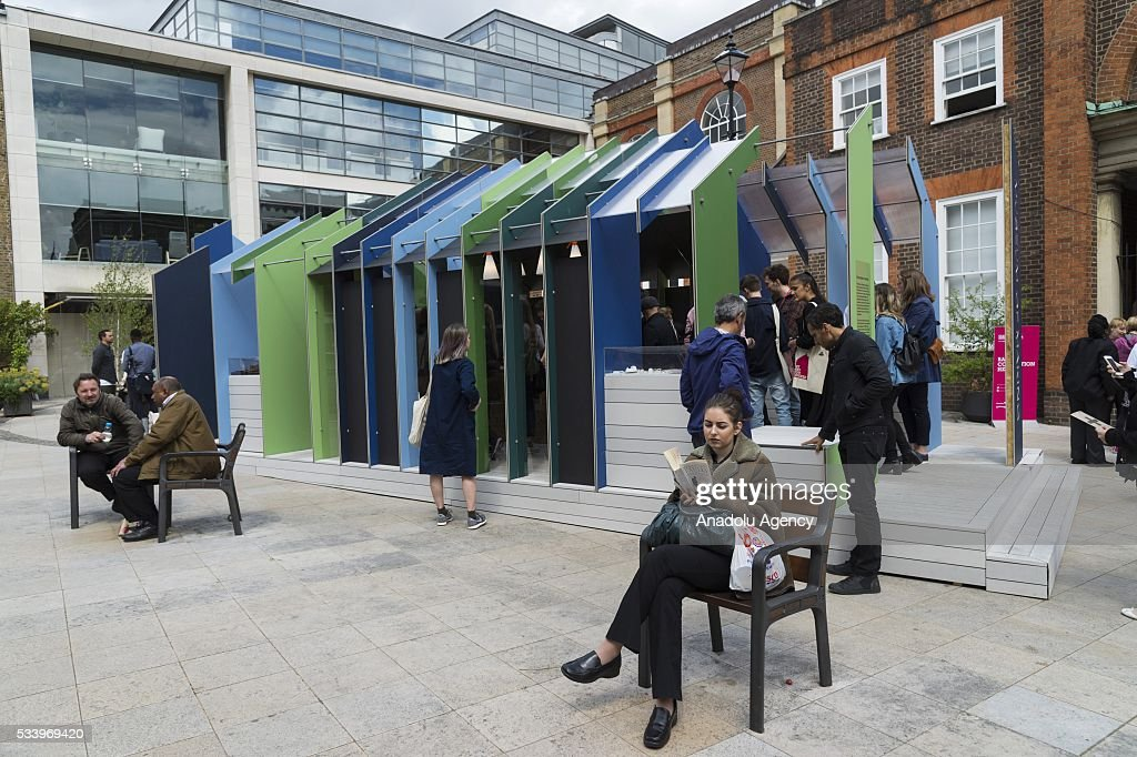 Visitors walk around the Museum of Making at the Clerkenwell Design Week in London, United Kingdom on May 24, 2016