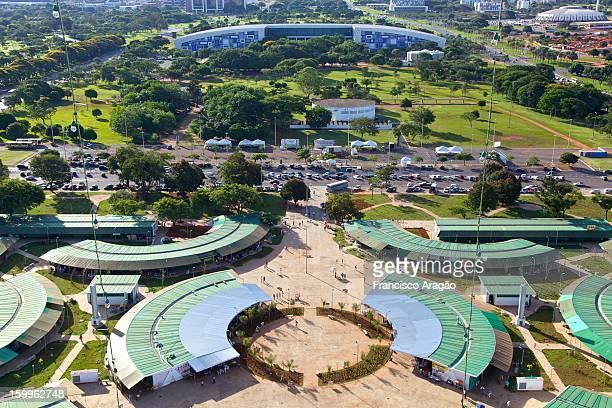 Vista da Feira de Artesanato de Brasília