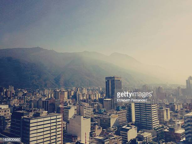 Vista del centro de Caracas