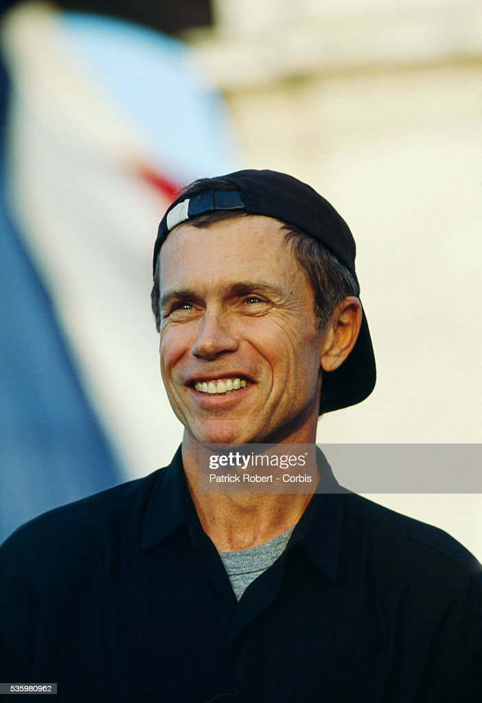 Visual artist Jean-Paul Goude attends a parade celebrating the 200th anniversary of Bastille Day. The Paris event, attended by hundreds of thousands of people, was organized by Goude.