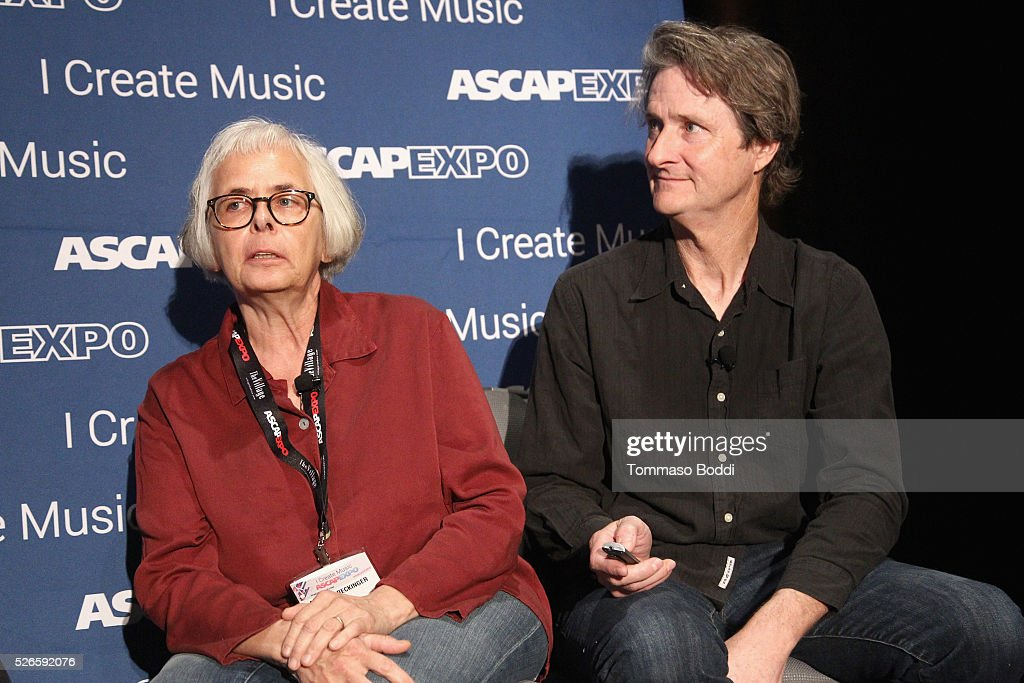 Visual Director, Designer, Animators Candace Reckinger and Michael Patterson speaks onstage at the 2016 ASCAP 'I Create Music' EXPO on April 30, 2016 in Los Angeles, California.