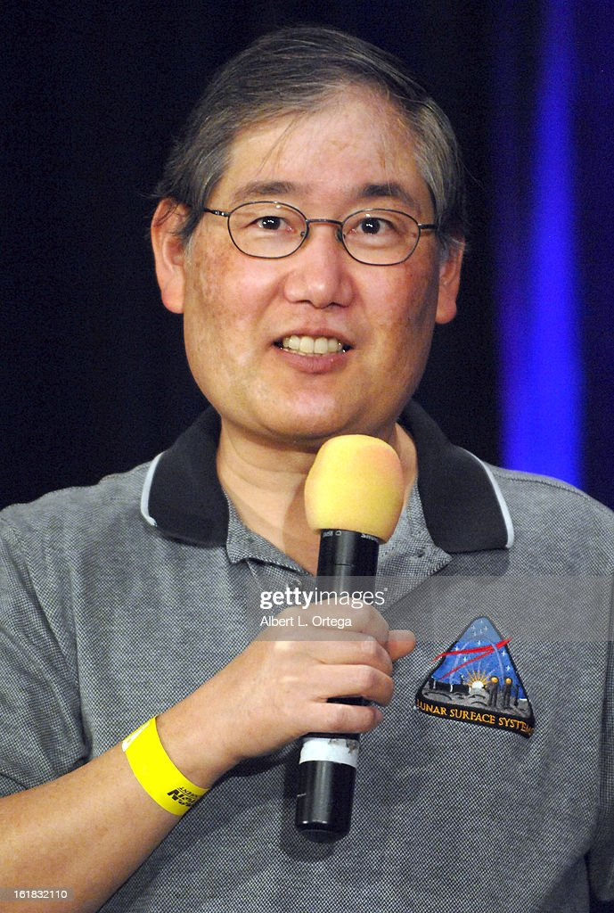Visual effects artist Michael Okuda attends Creation Entertainment's Grand Slam Convention: The Star Trek And Sci-Fi Summit held at Burbank Marriott Convention Center on February 16, 2013 in Burbank, California.
