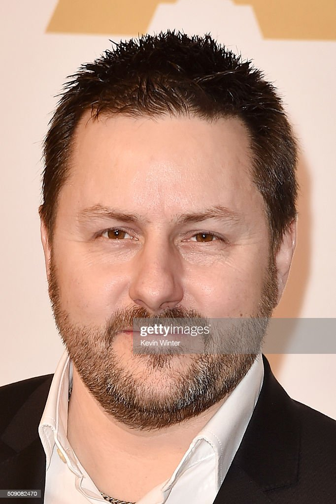 Visual effects artist Paul Norris attends the 88th Annual Academy Awards nominee luncheon on February 8, 2016 in Beverly Hills, California.