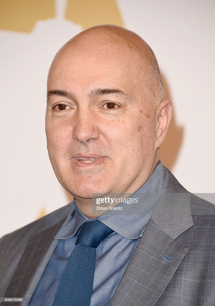Visual effects artist Roger Guyett attends the 88th Annual Academy Awards nominee luncheon on February 8, 2016 in Beverly Hills, California.