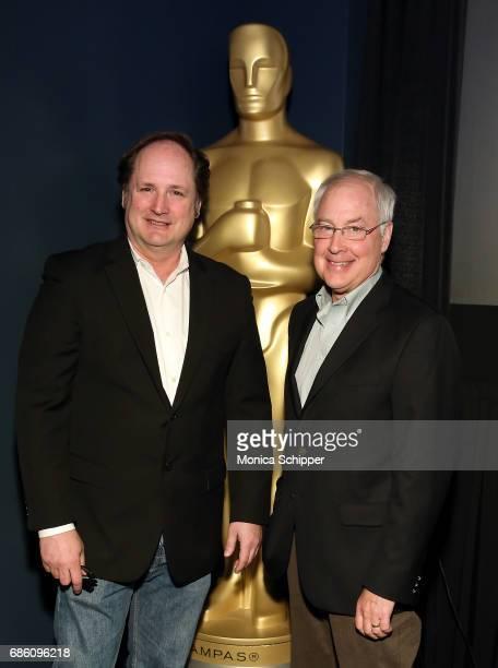 Visual effects supervisor and film historian Craig Barron and sound designer film editor director screenwriter and voice actor Ben Burtt attend The...