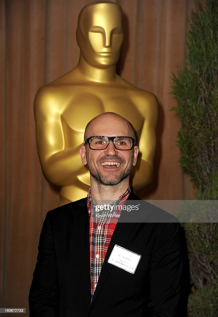 Visual effects supervisor Cedric Nicolas-Troyan attends the 85th Academy Awards Nominations Luncheon at The Beverly Hilton Hotel on February 4, 2013 in Beverly Hills, California.