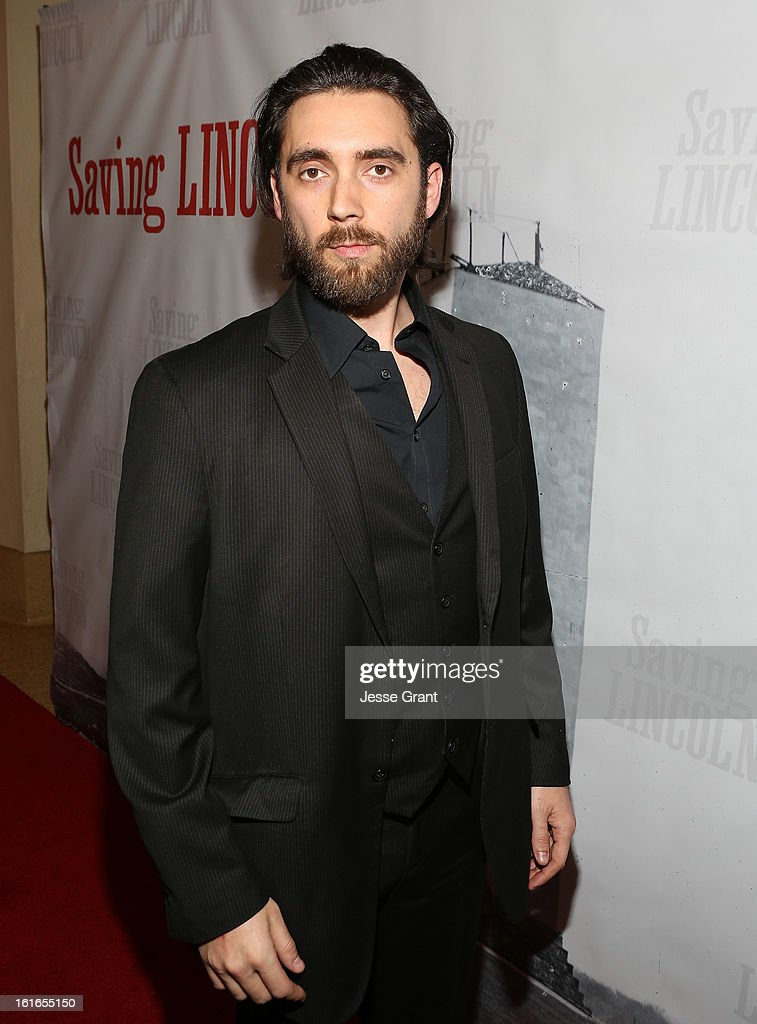 Visual effects supervisor Daniel Land attends the Pictures From The Fringe World Premiere of 'Saving Lincoln' at The Alex Theatre on February 13, 2013 in Glendale, California.