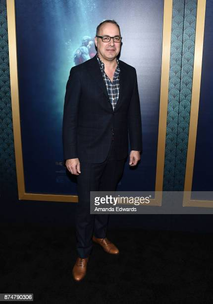 Visual effects supervisor Dennis Berardi arrives at the premiere of Fox Searchlight Pictures' 'The Shape Of Water' at the Academy Of Motion Picture...
