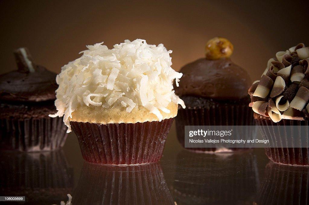 Visual feast cupcakes : Stock Photo