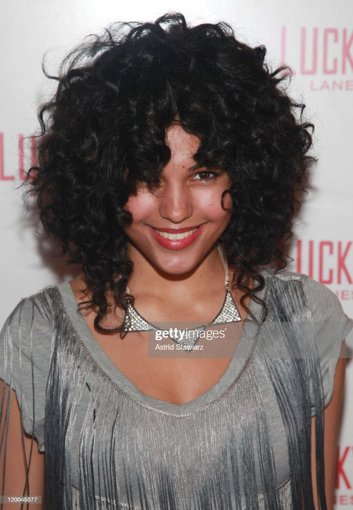 Vita Chambers attends the Puma x Lucky Strike Bowling Shoe launch at Lucky Strike on July 28, 2011 in New York City.