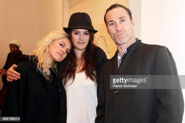 Vita Zaman Tatyana Murray and Joel Fitzpatrick attend Lehmann Maupin Gallery TRACEY EMIN Opening and Party at Wallse at Lehmann Maupin Gallery on...
