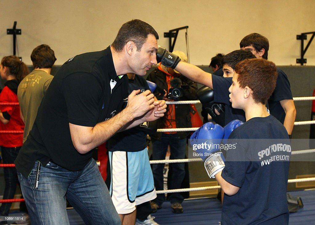 Vitali Klitschko Kids