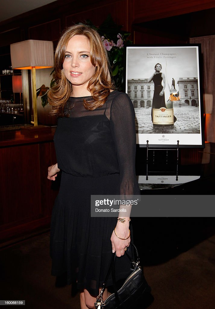 Vitalie Taittinger attends the Champagne Taittinger Women in Hollywood Lunch hosted by Vitalie Taittinger at Sunset Tower on January 25, 2013 in West Hollywood, California.