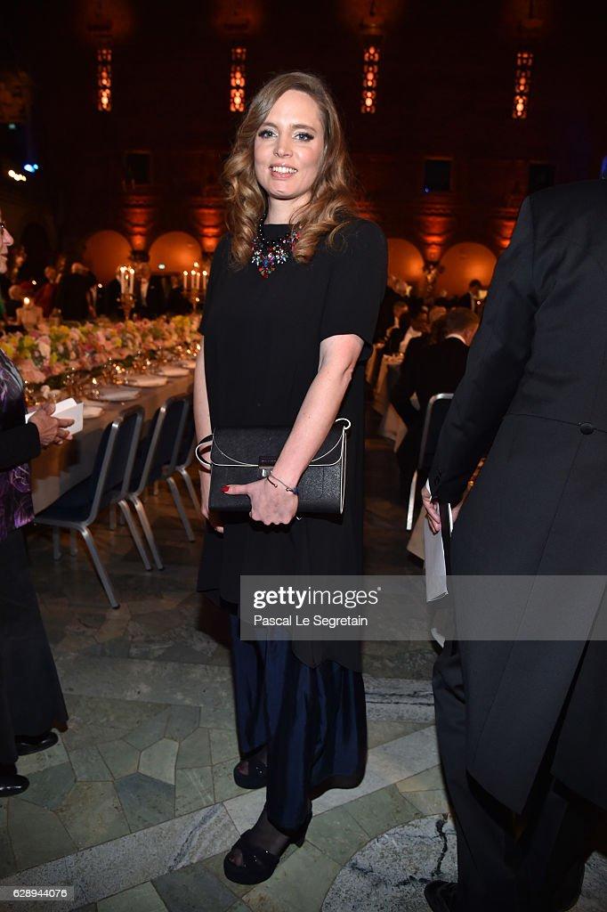 Vitalie Taittinger attends the Nobel Prize Banquet 2015 at City Hall on December 10, 2016 in Stockholm, Sweden.