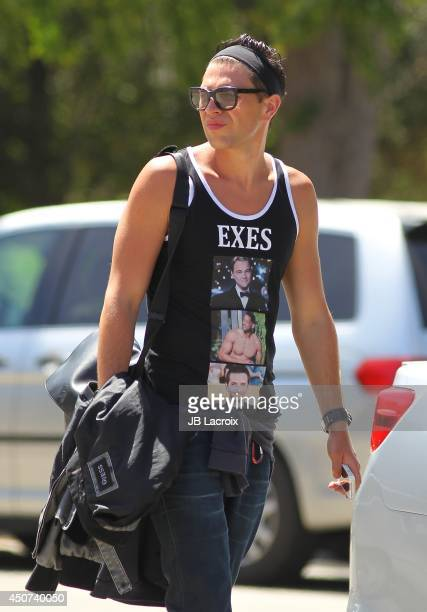 Vitalii Sediuk is seen fulfilling his community service on June 16 2014 in Los Angeles California