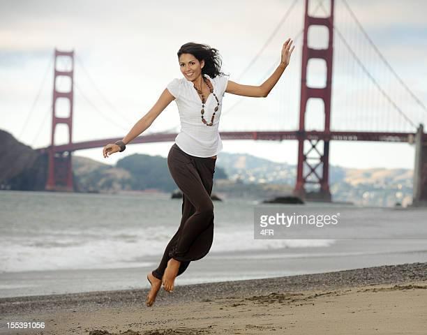 Vitalität, Baker Beach, San Francisco (XXXL)