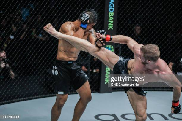 Vitaly Bigdash put up a tremendous fight against Aung La N Sang but ultimately los the ONE Middleweight World Championship during ONE Championship...