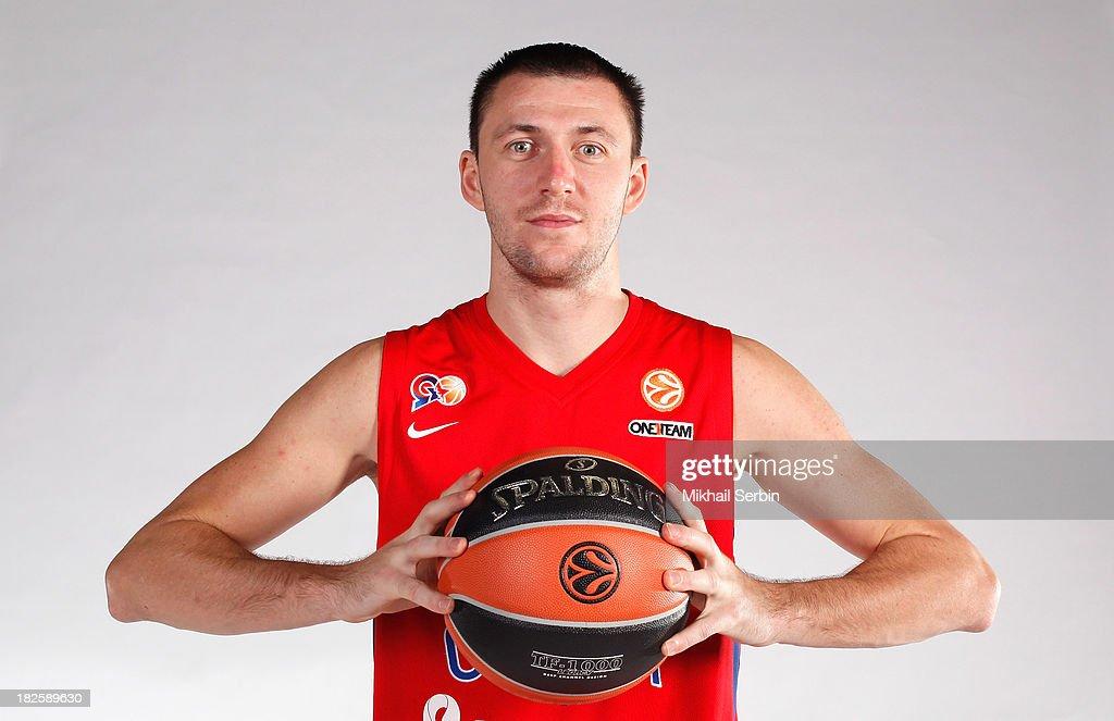 CSKA Moscow - 2013/14 Turkish Airlines Euroleague Basketball Media day