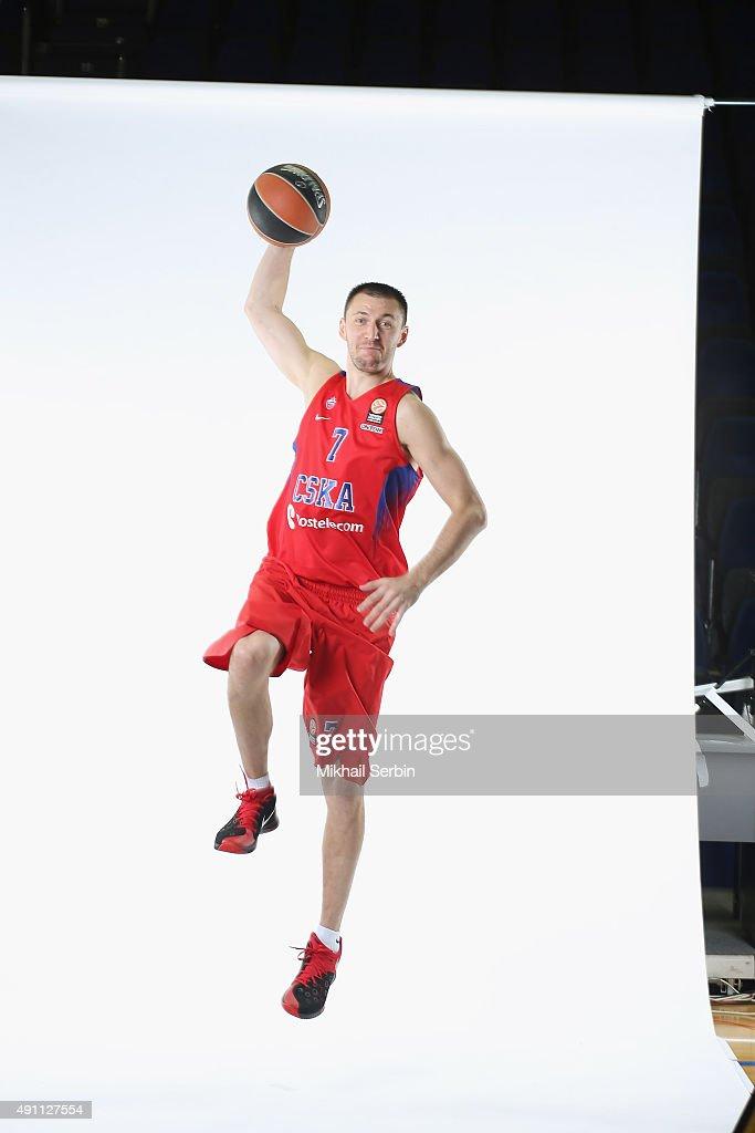 CSKA Moscow 2015/2016 Turkish Airlines Euroleague Basketball Media Day