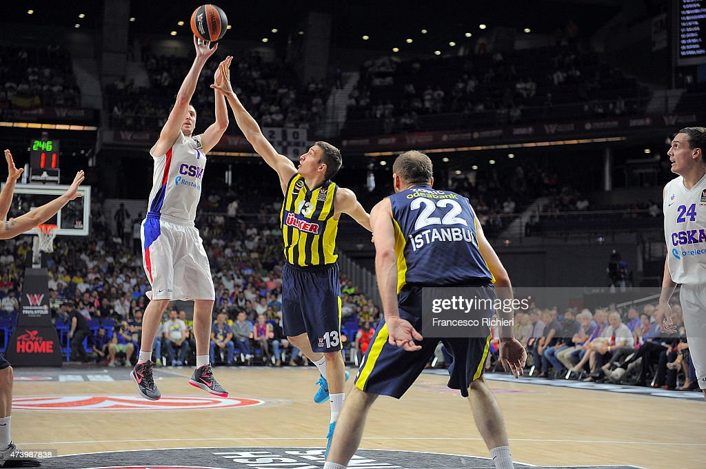 Turkish Airlines Euroleague Final Four Madrid 2015 - 3rd Place Game: Fenerbahce Ulker v CSKA Moscow