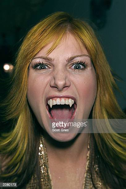 Vitamin C backstage at the MTV studios in New York for an episode of TRL during 'Spankin New Music Week' 11/15/00 Photo Scott Gries/Getty Images