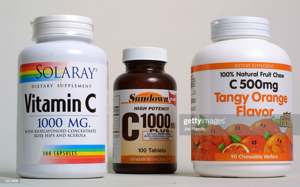 Vitamin C which is widely touted as cancer preventive is on display June 15 2001 in Miami FL In a test tube study reported by the Journal of Science...