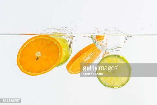 C vitamin splash