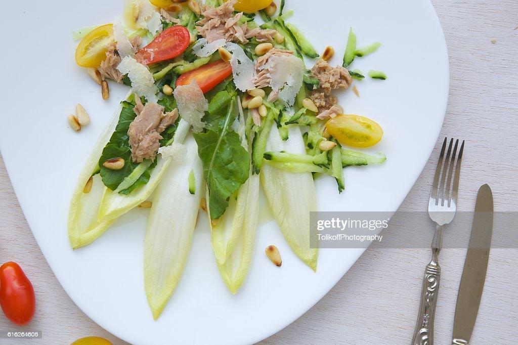 Vitamin winter salad : Stock Photo