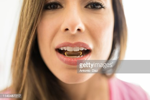 Vitamins Keep You Healthy And Strong : Stock Photo