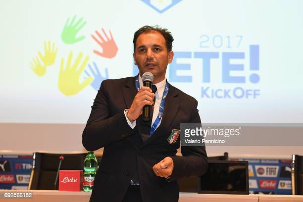 Vito Di Gioia during FIGC Partners Day at Coverciano on June 5 2017 in Florence Italy