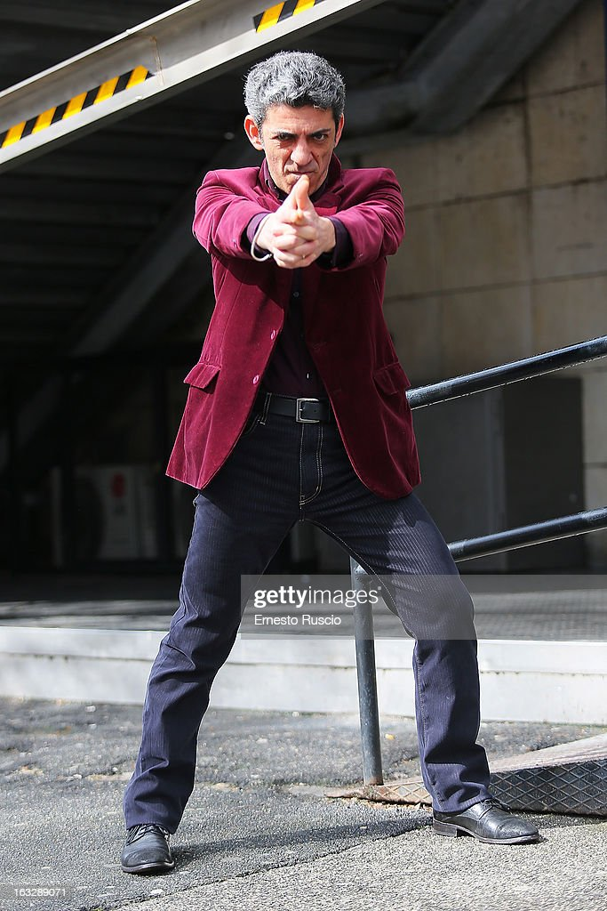 Vito Facciolla attends the 'Ameriqua' photocall at UCI Cinemas Marconi on March 7, 2013 in Rome, Italy.
