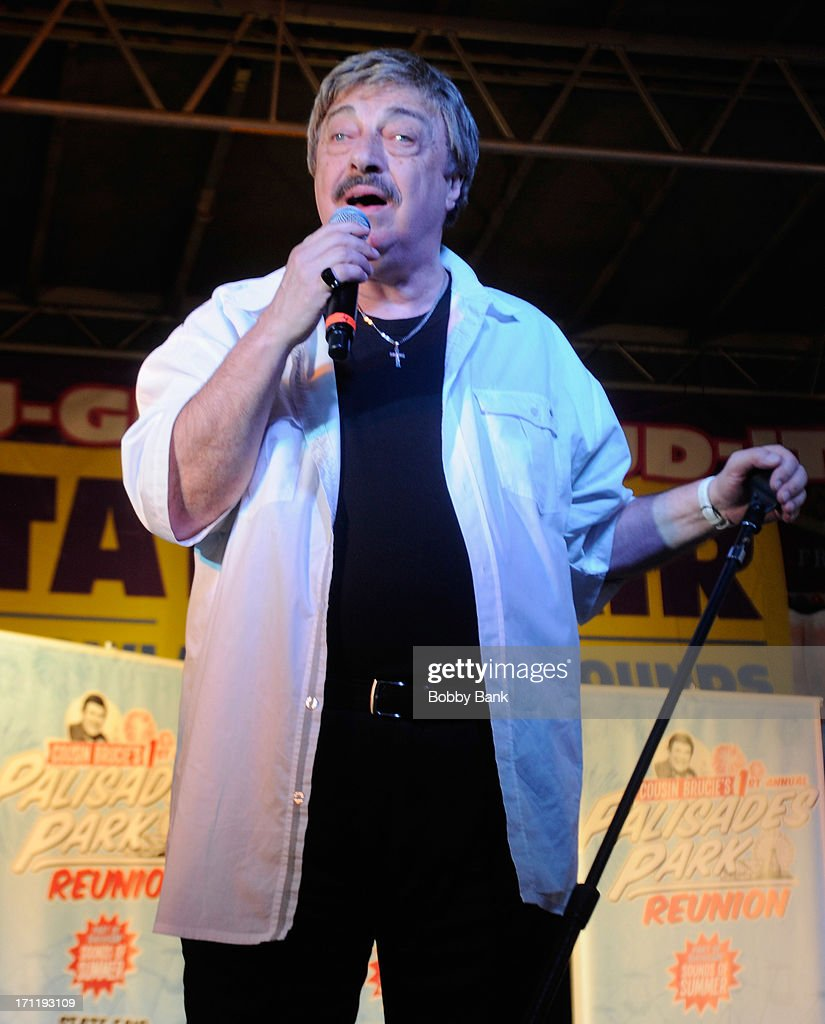 Vito Picone of The Elegants performs at the Cousin Brucie's First Annual Palisades Park Reunion Presented By SiriusXM at State Fair Meadowlands on June 22, 2013 in East Rutherford, New Jersey.