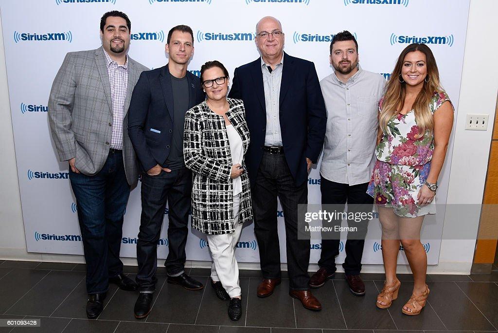 Celebrities Visit SiriusXM - September 9, 2016