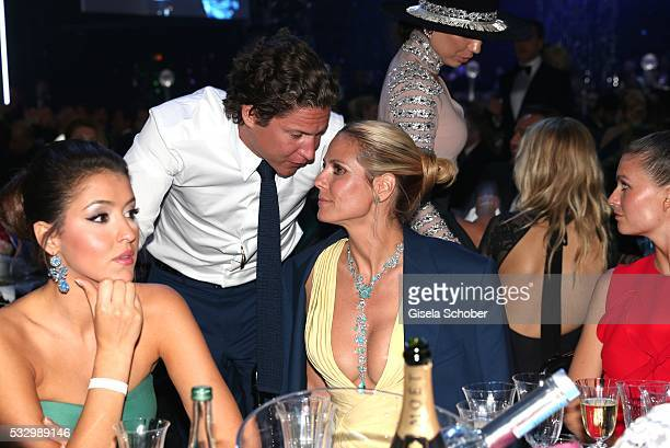 Vito Schnabel and Heidi Klum attend the amfAR's 23rd Cinema Against AIDS Gala at Hotel du CapEdenRoc on May 19 2016 in Cap d'Antibes France