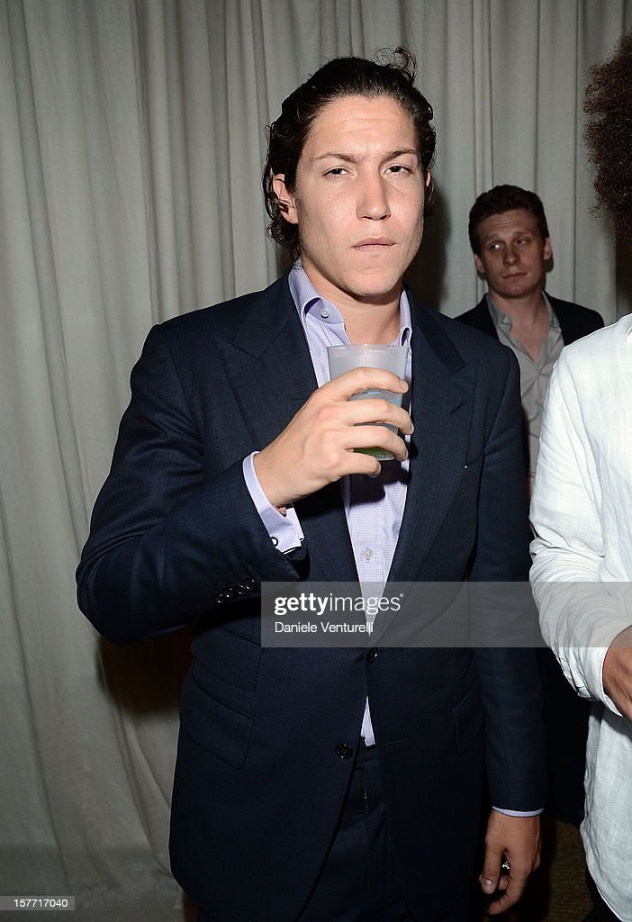 Vito Schnabel attends Chanel beachside BBQ celebrating Art.sy at Soho Beach House on December 5, 2012 in Miami Beach, Florida.