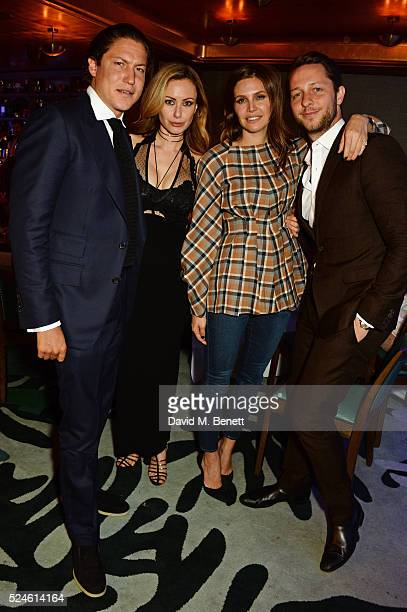 Vito Schnabel Camilla AlFayed Dasha Zhukova and Derek Blasberg attend the launch of the new Venyx Oseanyx collection hosted by Eugenie Niarchos and...